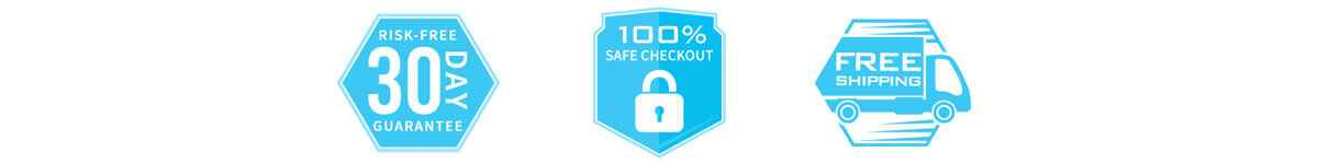 30 Day Risk Free Guarantee - Secure Checkout - Free Shipping