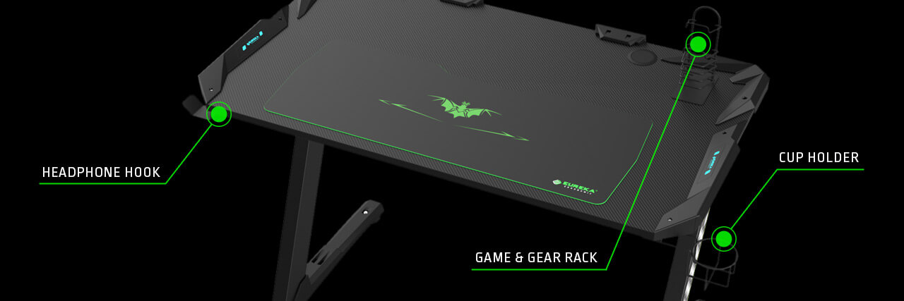 Eureka Z1S Gaming Desk - Pre-Order Sale
